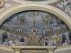 Apse mosaic, Santa Pudenziana