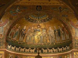 Apse, Santa Maria in Trastevere