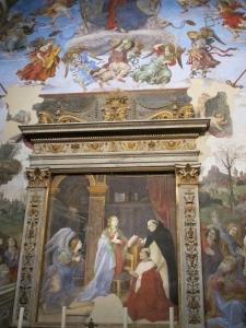 Capella Carafa, Santa Maria sopra Minerva. Filippino Lippi (1488-93)