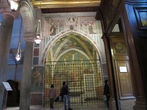 The Branda Castiglione Chapel, San Clemente, c.1428-31
