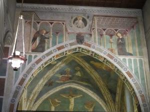 Annunciation, Branda Castiglione Chapel, San Clemente. c.1428-31
