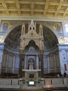 Ciborium, San Paolo fuori le mura. Arnolfo di Cambio, 1285.