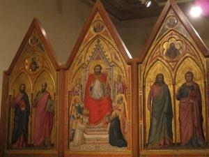 Stefaneschi Altarpiece, school of Giotto da Bondone, c.1320. Pinacoteca Vaticana.