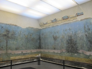Triclinium paintings from the villa of Livia at Prima Porta, Museo Nazionale Romano, Palazzo Massimo alle Terme