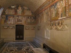 Chapel of Saint Sylvester, Basilica dei Santi Quattro Coronati. Consecrated 1247.