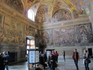 The Hall of Constantine, Vatican Palace