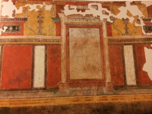 "Upper cubiculum, ""House of Augustus""."