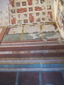 "Painted decorations at the ""House of Augustus"""