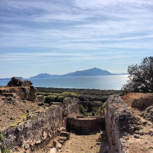 View from the Temple of Apollo at Cumae